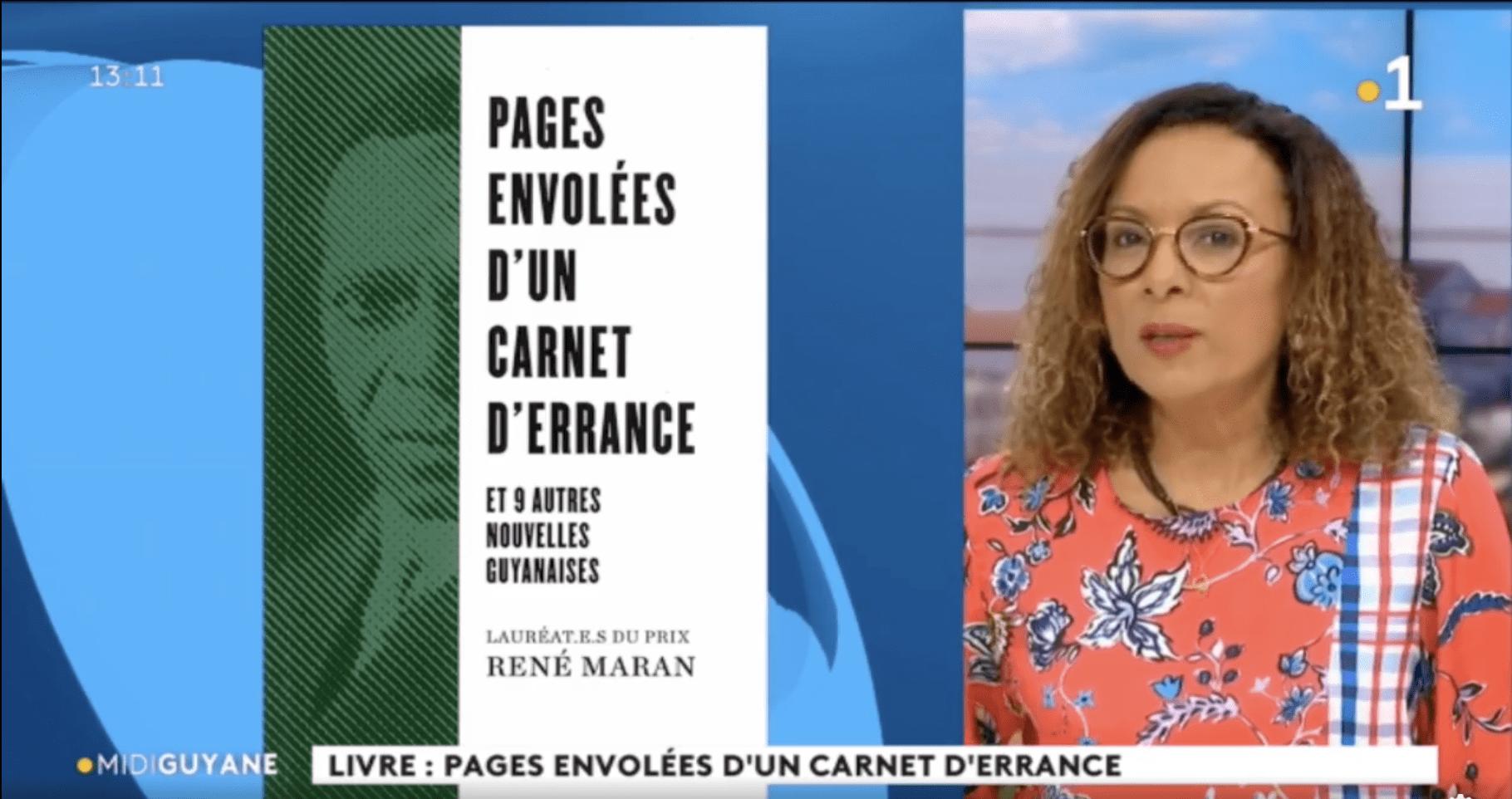 Recueil des 5 Prix René Maran – Guyane 1ère