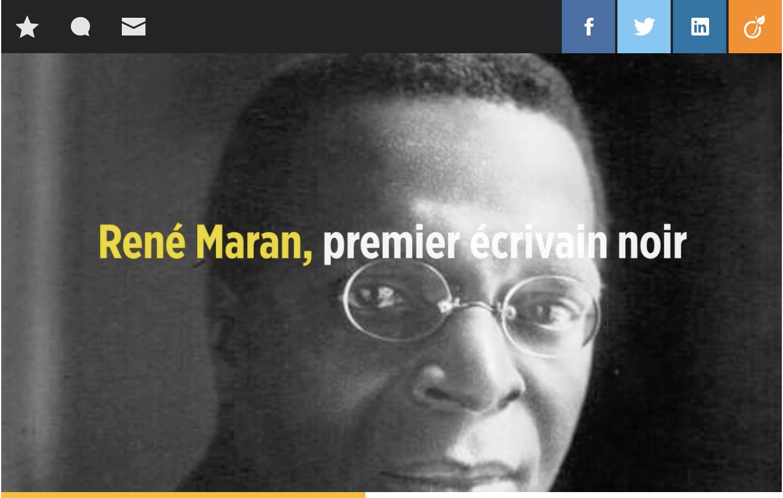 Article du Point sur le google présenté le 5 novembre 2019, jour anniversaire de R MARAN