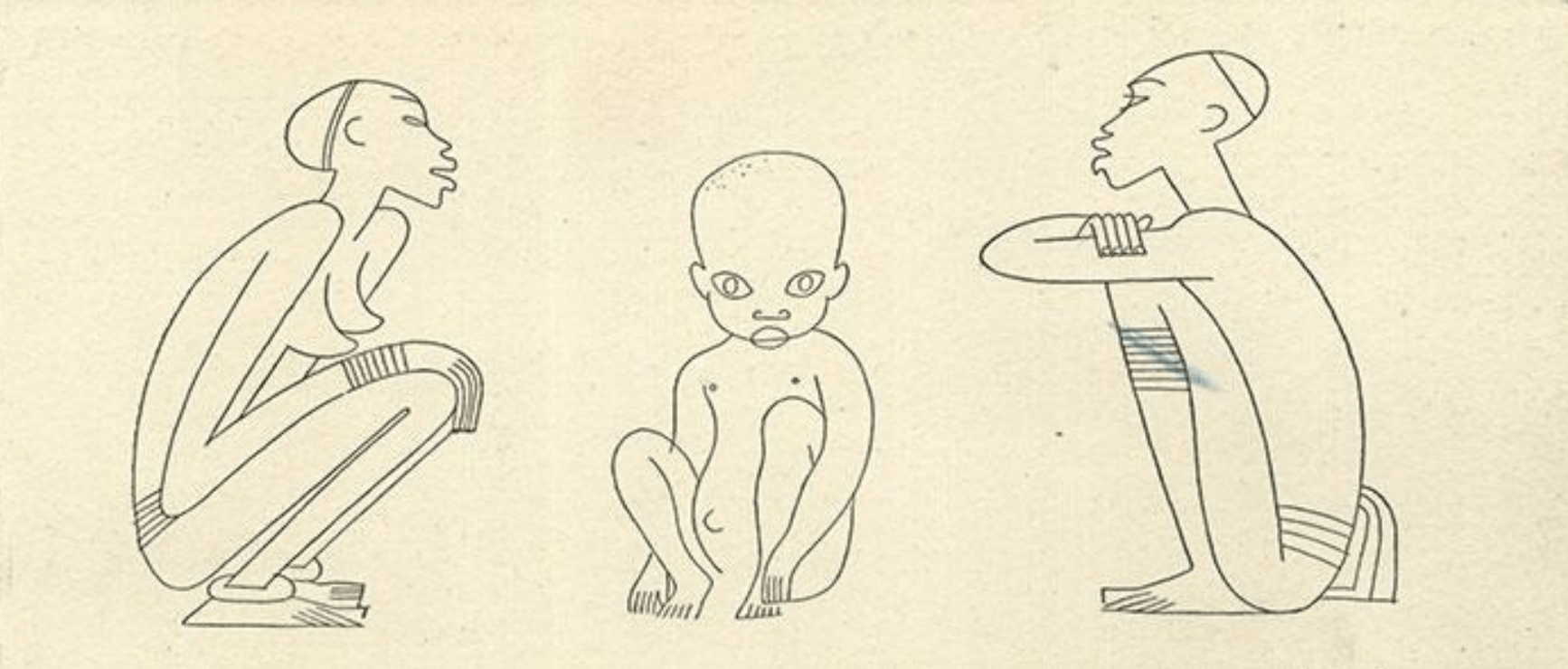Esquisses De Miguel COVARRUBIAS5, René Maran