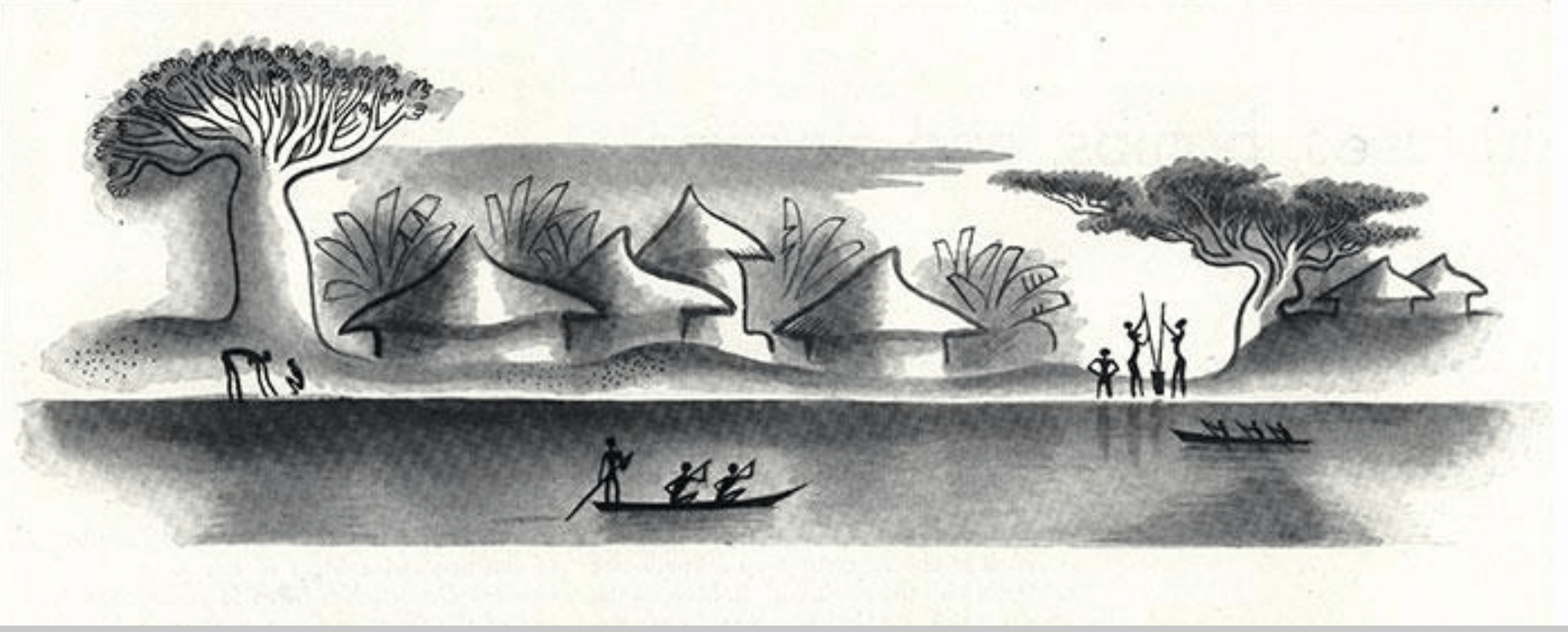 Esquisses De Miguel COVARRUBIAS8, René Maran