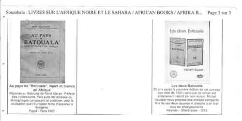 Page 3 Soumbala Fin Batouala 500x251, René Maran