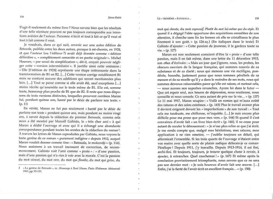 Page 158 159, René Maran