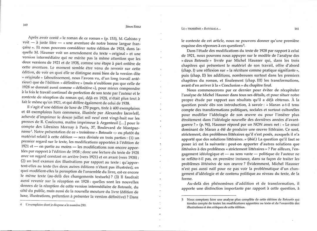 Page 160 161, René Maran