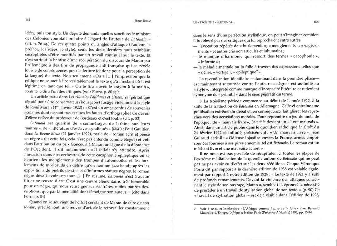Page 164 165, René Maran