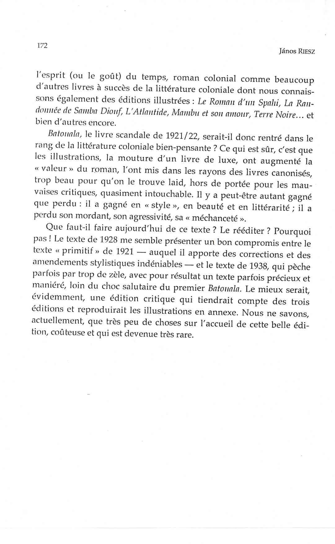 Page 172 Fin, René Maran