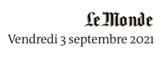 Logo Le Monde, René Maran